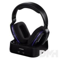 """Thomson 131959 """"WHP3311B"""" vezeték nélküli fekete fejhallgató"""