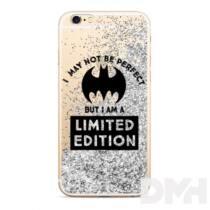 Bat Girl 007 iPhone XR csillámos folyadékos ezüst hátlap