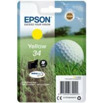 Ink Golf ball Singlepack Epson Yellow 34 DURABrite Ultra | 4,2 ml