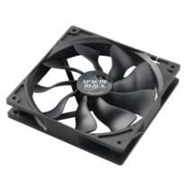 Akasa SuperSilent High airflow Apache PWM Fan, 14cm, black edition