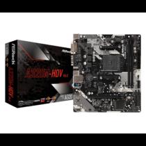 ASRock A320M-HDV R4.0, AM4, A320,  2 x DDR4 DIMM, 4 SATA3, HDMI, DVI-D, D-Sub