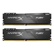 Kingston HyperX FURY 8GB 2400MHz DDR4 CL15 DIMM (Kit of 2) Fekete