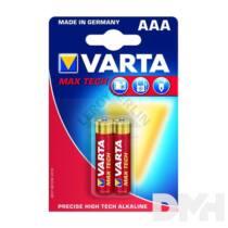 VARTA Max Tech AAA alkáli mikro ceruza elem 2db/bliszter