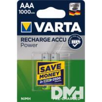 VARTA Ready2Use AAA (HR03) 1000mAh akku 2db/bliszter