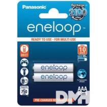 Panasonic Eneloop AAA 750mAh mikro ceruza akku 2db/ bliszter