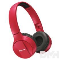 Pioneer SE-MJ553BT-R Bluetooth piros fejhallgató