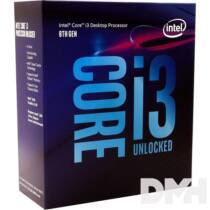 Intel Core i3 3,60GHz LGA1151 6MB (i3-8100) box processzor