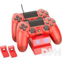 Venom VS2739 PS4 piros dupla töltőállomás
