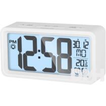 Sencor SDC 2800 W fehér digitális ébresztőóra hőmérővel
