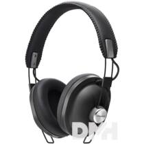 Panasonic RP-HTX80BE-K Bluetooth fekete design mikrofonos fejhallgató