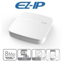 EZ-IP NVR1B08 8 csatorna/H265+/80Mbps rögzítés/1x Sata hálózati rögzítő(NVR)