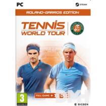 Tennis World Tour Roland Garros Edition PC játékszoftver
