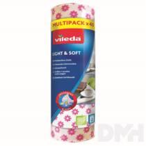 Vileda Light&Soft roll eldobható törlőkendő 40db-os