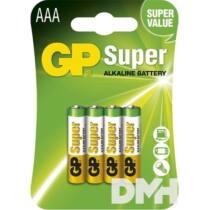 GP Super alkáli 24A 4db/blister mikro ceruza (AAA) elem