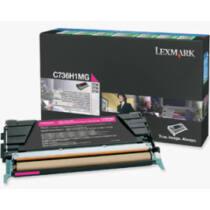 Lexmark magenta toner  return   10000old   C736/X736/X738