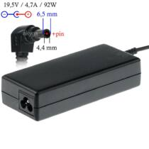 Akyga notebook power adapter AK-ND-20 19.5V/4.7A 92W 6.5x4.4 mm + pin SONY