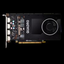 PNY NVIDIA Quadro P2200, 5GB GDDR5 (160 Bit), 4xDP (1xDP to DVI SL)