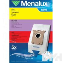 Menalux 1840 5 db szintetikus porzsák + 1 microfilter