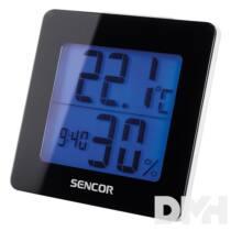 Sencor  SWS 1500 B fekete időjárás állomás