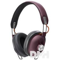 Panasonic RP-HTX80BE-R Bluetooth bordó design mikrofonos fejhallgató
