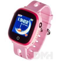 Garett Kids Happy rózsaszín GPS-es okosóra