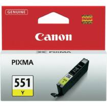 Canon CLI551Y yellow tinta| iP7250/MG5450/MG6350