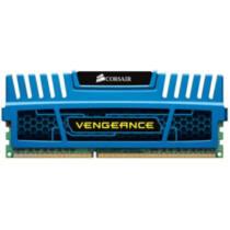 Corsair Vengeance 4GB, DIMM,1600MHz, DDR3, CL9, XMP,Non-ECC,with Heatsink (blue)