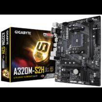 Gigabyte GA-A320M-S2H ,2 x DDR4 DIMM ,1 x PCI Express x16 slot, HDMI/DVI-D