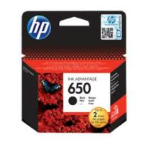 HP 650 black tintapatron