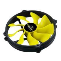Akasa SuperSilent High airflow Viper R PWM S-Flow Fan, 14/12cm, 110CFM