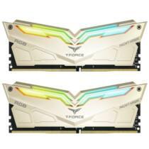 Team Group Night Hawk RGB Memória DDR4 16GB (2x8GB) 3466MHz CL16 1.35V Arany