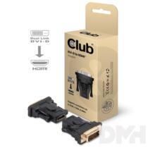 CLUB3D DVI-D - HDMI adapter