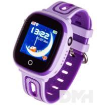 Garett Kids Happy lila GPS-es okosóra