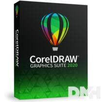 CorelDRAW Graphics Suite 2020 ENG ML dobozos szoftver