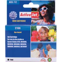 ActiveJet tinta, AEB-712N | Cyan | 15 ml | Chip | Epson T0712