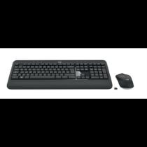 Logitech MK540 ADVANCED Wireless Keyboard and Mouse Combo, Black, US