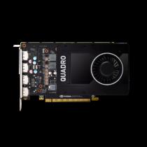PNY NVIDIA Quadro P2000, 5GB GDDR5 (160 Bit), 4xDP (4xDP to DVI SL)