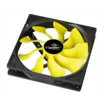 Akasa SuperSilent High airflow Viper PWM S-Flow Fan, 14cm, 111CFM of Airflow