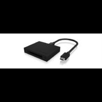 IcyBox Külső kártyaolvasó USB 3.1 Type-C / Type-A, CFast 2.0