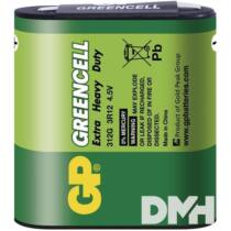 GP Greencell 4,5 V laposelem 3LR12 1db/zsugor