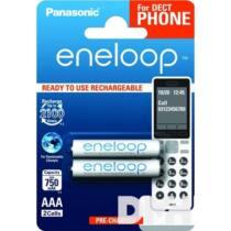 Panasonic Eneloop Phone AAA 750mAh mikro ceruza akkumulátor 2db/bliszter