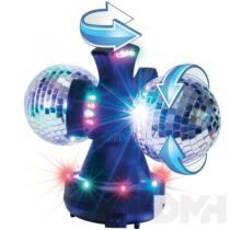 Somogyi DL 210L diszkó lámpa tükörgömbökkel