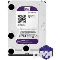 """Western Digital 3,5"""" 1000GB belső SATAIII 5400RPM 64MB PURPLE WD10PURZ winchester 3 év"""