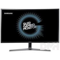 "Samsung 26,9"" C27HG70QQU QLED WQHD 2HDMI Display port 144Hz ívelt kijelzős gamer monitor"