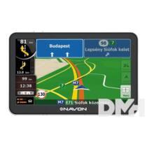 """Navon N670 Plus 5"""" iGO Primo NextGen Európa (47 ország) térképpel GPS navigáció"""