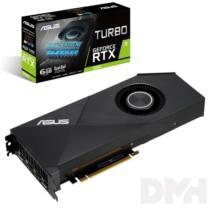 ASUS TURBO-RTX2060-6G nVidia 6GB GDDR6 192bit PCIe videokártya