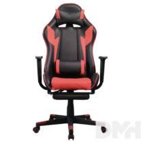 Iris GCG204BR_FT fekete / piros gamer szék