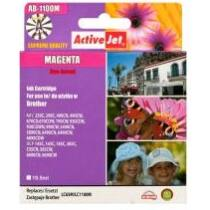ActiveJet tinta, AB-1100MNX   Magenta   19,5 ml   Brother LC1100M,LC980M