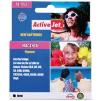 ActiveJet tinta, AE-443N   Magenta   18 ml   Chip   Epson T0443