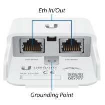 Ubiquiti ETH-SP Gen 2 Ethernet Surge Protector - Data Line Protection (PoE)